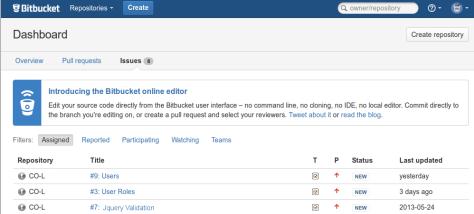 bitbucket-Issues
